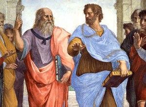 Aristóteles y Platón