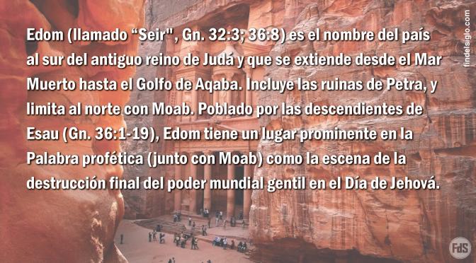 La ciudad de Petra en la Biblia, pasado, presente y futuro profético