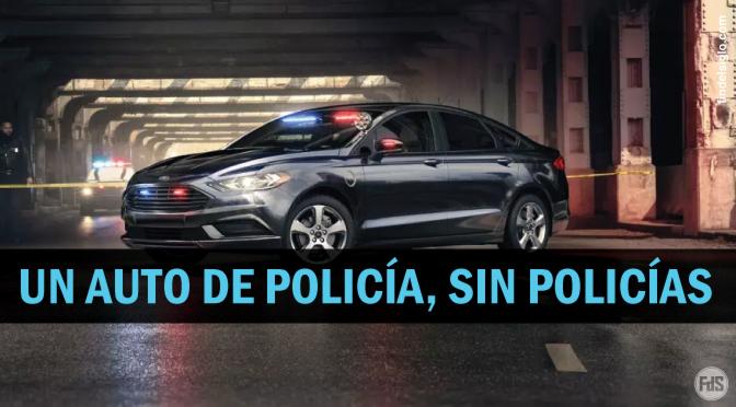 Ford plantea la idea de un auto de policía autónomo