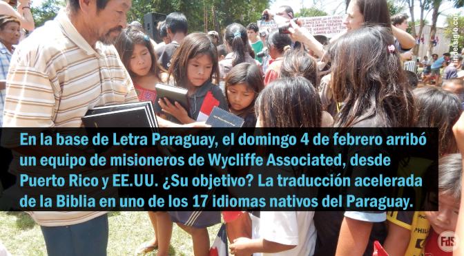 [Paraguay] EL NUEVO TESTAMENTO EN GUARANÍ ÑANDEVA, ¡TERMINADO EN 3 AÑOS!