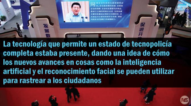 Dentro de la Conferencia Big Tech de China, nuevas formas de rastrear a los ciudadanos