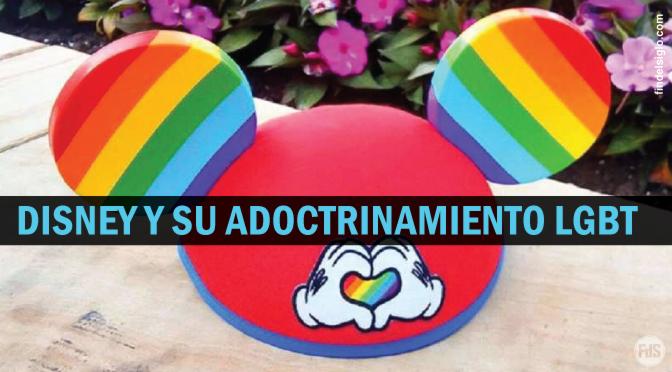 Disney presenta orejas de arco iris Mickey Mouse para celebrar la homosexualidad