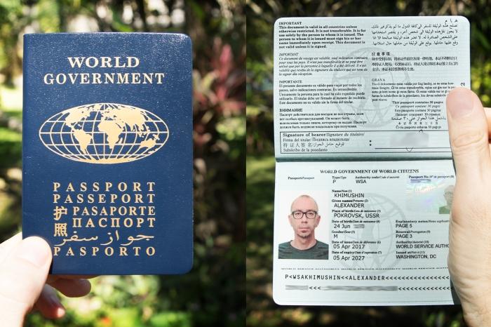 pasaporte del mundo