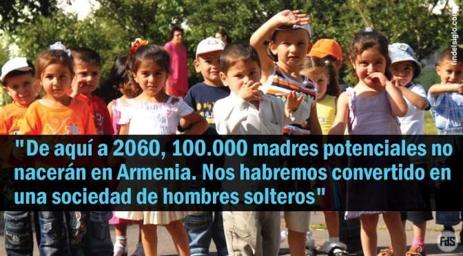 [Armenia] Crecen los abortos selectivos, donde no quieren hijas