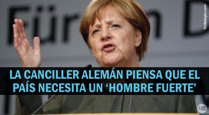 ¿Angela Merkel se está preparando para el Apocalipsis?