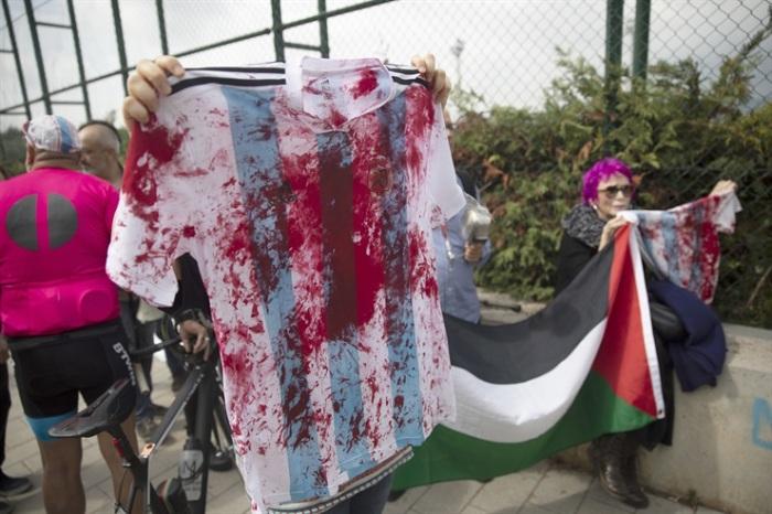camisetas argentinas con sangre