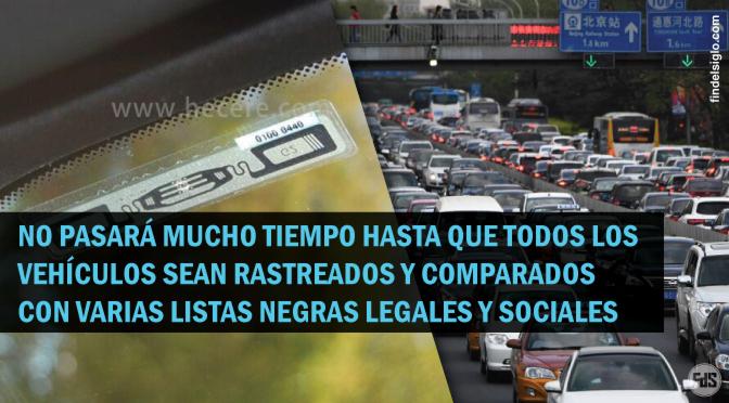 [China] Se colocarán chips en los parabrisas de los automóviles para rastrear a los conductores