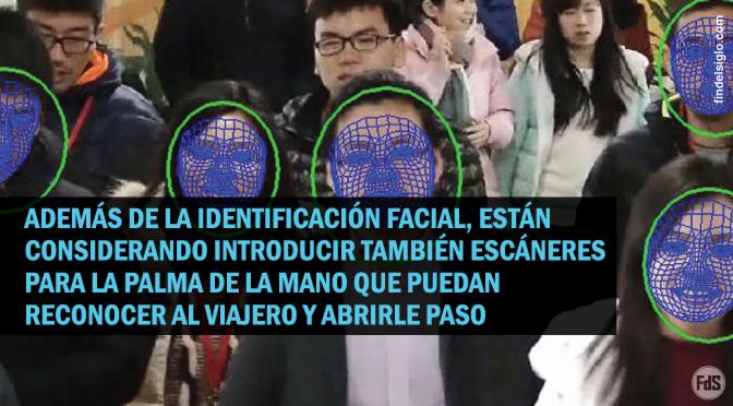 [China] utilizará reconocimiento facial para identificar a los viajeros del metro