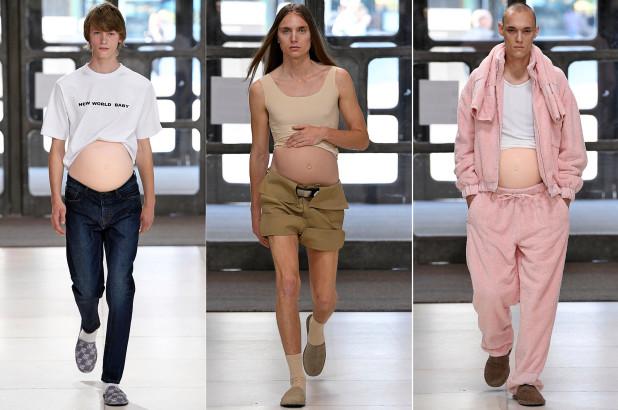 Desfile hombres embarazados 5