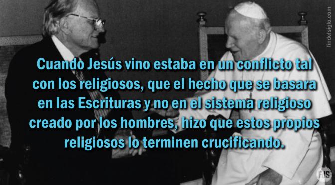 Jesús y los religiosos de su época