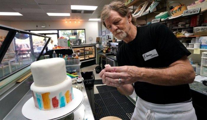 El pastelero Jack Phillips