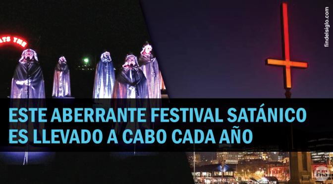 [Australia] Festivales de sangre, satanismo y cruces invertidas. Todo en 'nombre del arte'