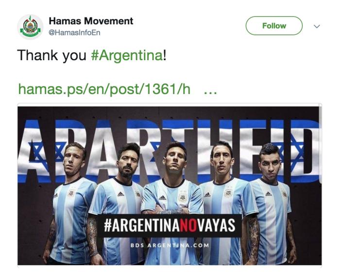 Hamas seleccion argentina