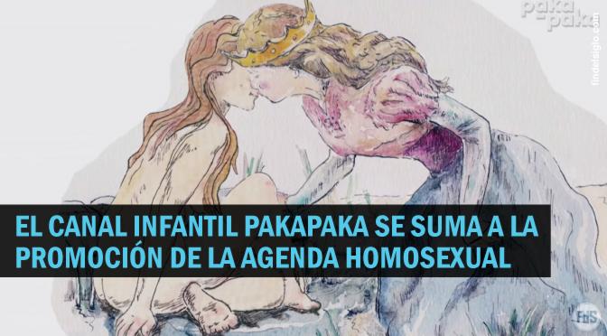 PakaPaka, el canal infantil del Ministerio de Educación de la República Argentina promueve el lesbianismo