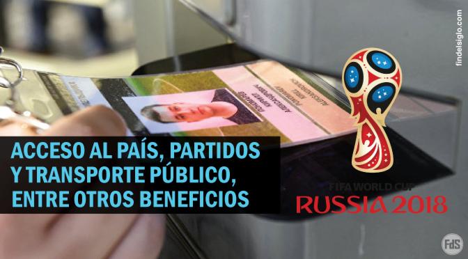 La credencial de acceso al Mundial de Rusia 2018 posee un chip RFID