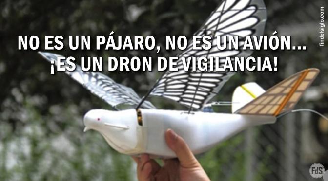 [China] Bandadas de pájaros robóticos  equipados con herramientas de vigilancia de alta tecnología