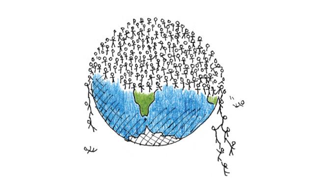"""""""¿Cómo pueden haber tantas personas en el mundo?"""""""