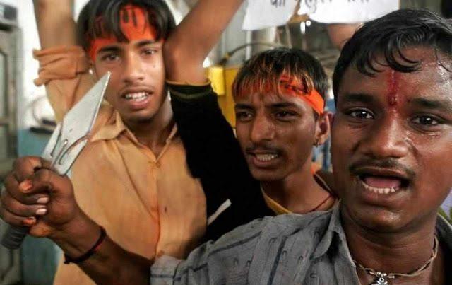 Extremistas-hindúes