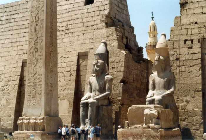 Templo de Amon en Tebas