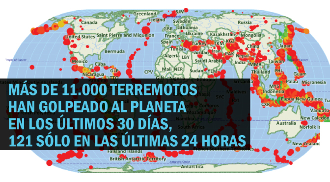 Cinturón de Fuego del Pacífico: Desde Julio han habido 11.000 terremotos. ¿Estará por venir UNO REALMENTE GRANDE?