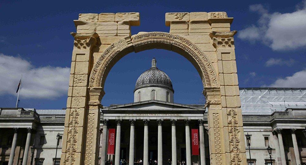 Arco del truinfo Palmira en Londres