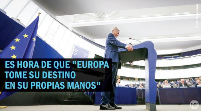 """Presidente de la Comisión Europea pide una Europa """"global"""""""