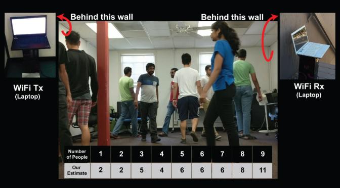 Algoritmo usa la señal Wi-Fi para contar las personas que hay en una habitación