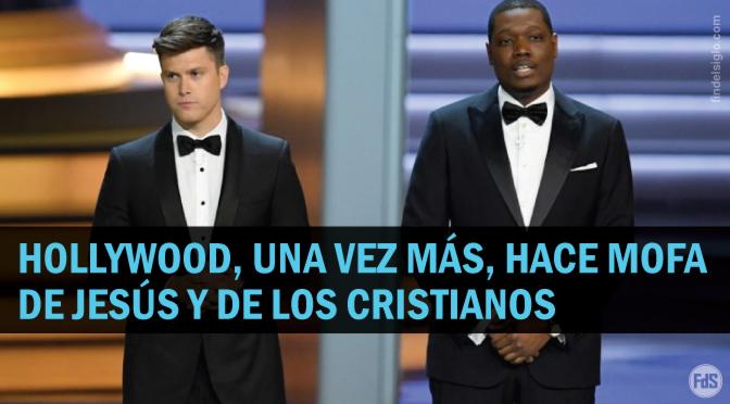 """Entrega de premios Emmy: """"Sólo los blancos republicanos y exdrogadictos le agradecen a Jesús"""""""