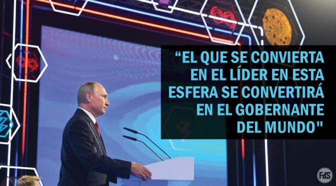 Putin dice que la nación que lidera en inteligencia artificial 'será quien gobierne el mundo'