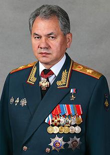 Sergey Shoygu,