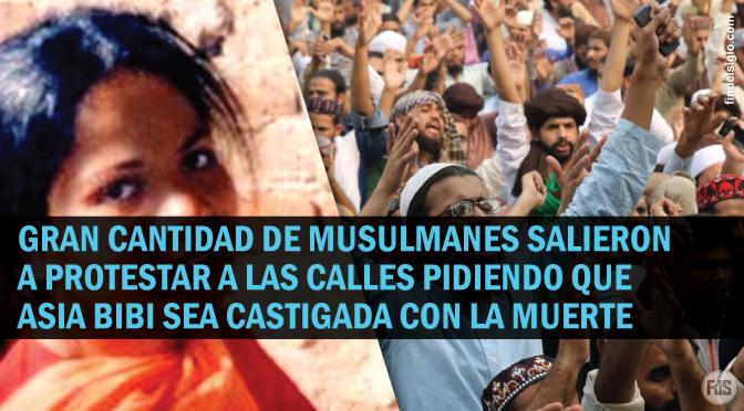 [Pakistán] Asia Bibi, la cristiana absuelta de la pena de muerte ha sido liberada