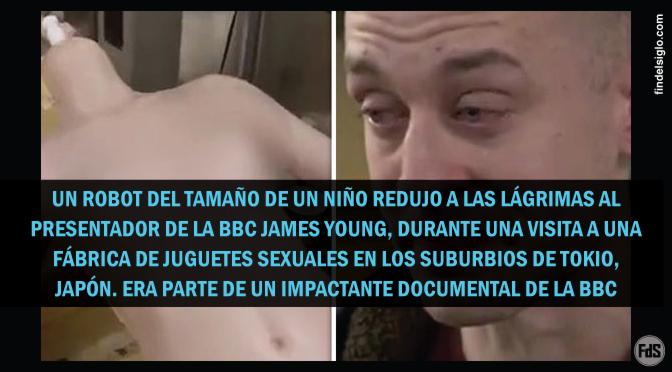 Repugnante: Durante un documental de la BBC encuentran un robot sexual de tamaño infantil