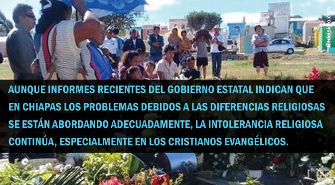 [México] Católicos tradicionales impiden el entierro evangélico en Chiapas
