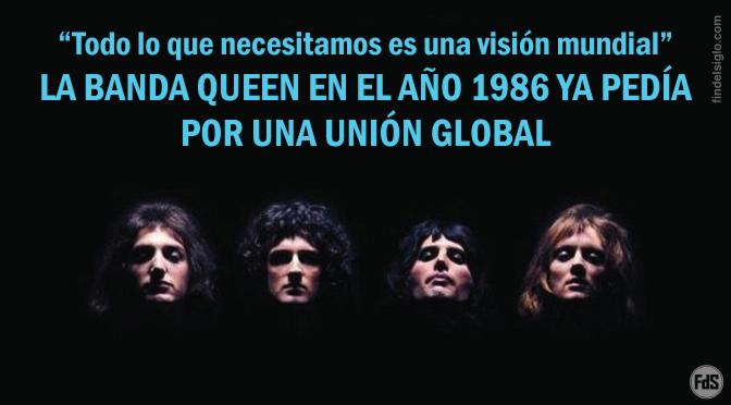 Freddie Mercury, de la banda Queen, y su promoción al gobierno del anticristo