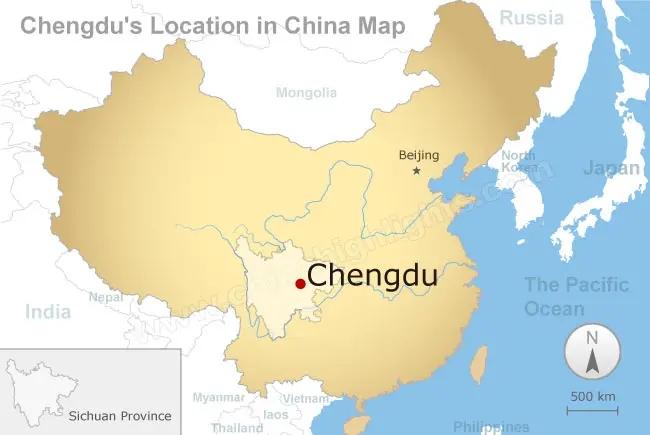 chengdu mapa
