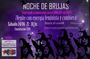 Evento feminista promoviendo el movimiento feminista