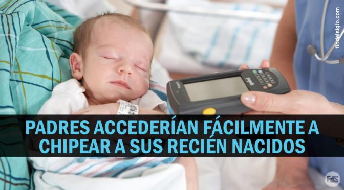 Crece el deseo de padres para implantar microchips a sus bebés