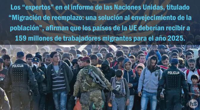 La ONU ya tenía planes para reemplazar a los europeos con 159 millones de migrantes hace 18 años