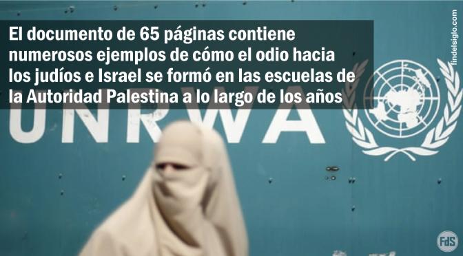 Un informe desclasificado en EE.UU. muestra que las escuelas financiadas por la ONU promovieron el odio hacia los judíos e Israel