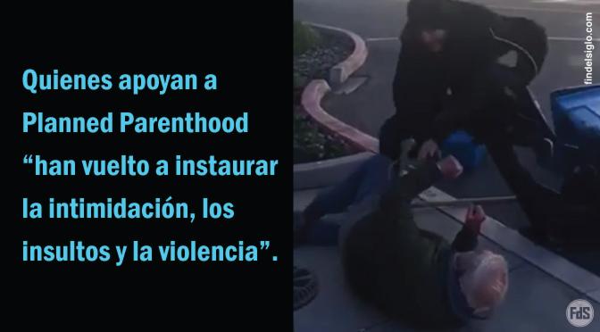 [EE.UU.] Brutal ataque contra activista provida de 85 años frente a un abortorio