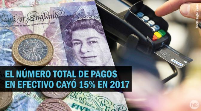 [Reino Unido] Tarjetas de débito superan el efectivo por primera vez