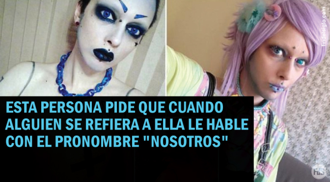 Transgénero (mujer ➤ hombre) ahora dice ser extraterrestre