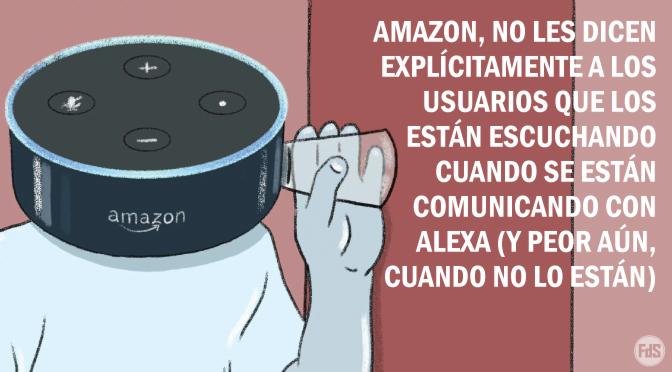 Amazon emplea a miles de personas solo para escuchar su dispositivo Alexa