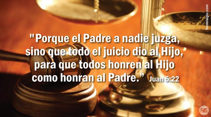 Cristo es el Juez de la humanidad