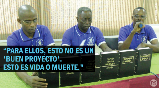 [Nigeria] Luz verde para traducir la Biblia en 250 idiomas y dialectos