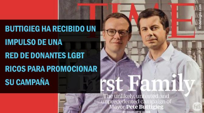"""La revista Time presenta al candidato presidencial de EE.UU. Pete Buttigieg con """"Marido"""" en la portada de """"Primera familia"""""""