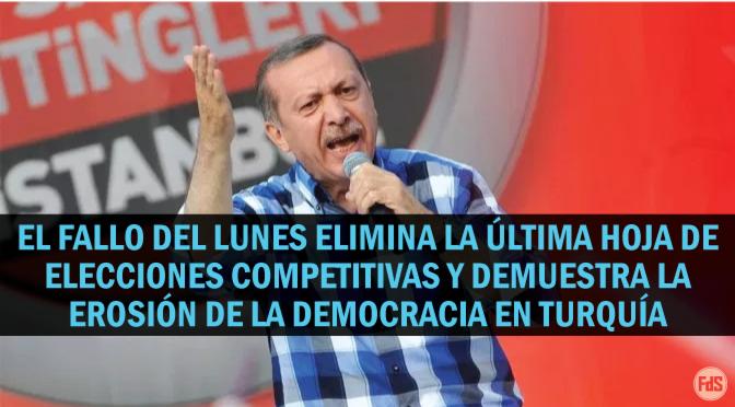 [Turquía] La democracia fracasa: Erdogan, furioso, rechaza la derrota y le ordena a Estambul que vote nuevamente
