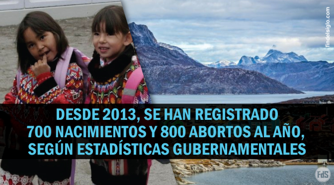 [Groenlandia] Más abortos que nacimientos