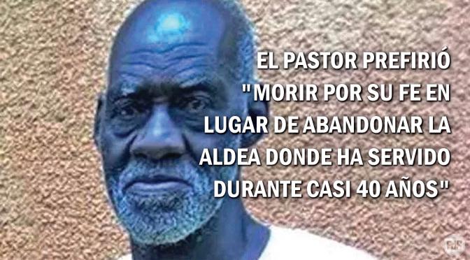 Pastor y otros 5 fusilados después de un servicio religioso en Burkina Faso