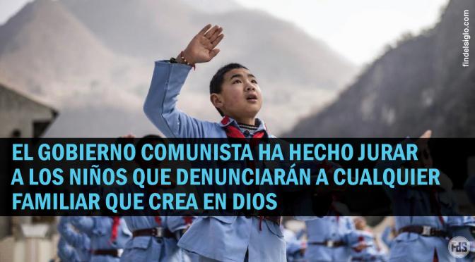 El ateísmo es enseñado en China desde el jardín de infantes